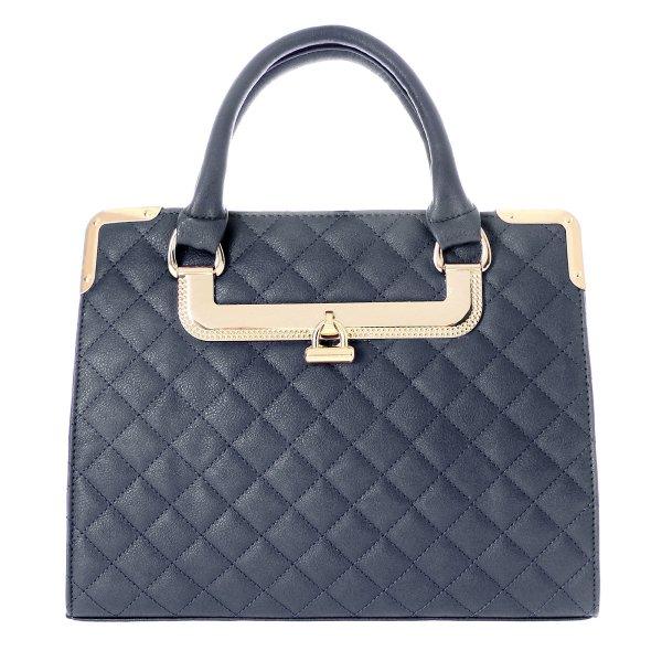 Shopper bag torba<br> damska torebka T10<br>Niebieski