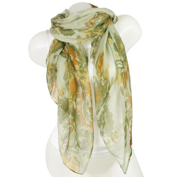 Damen Loop schal<br> Tuch gute Qualität<br>150736 Grün