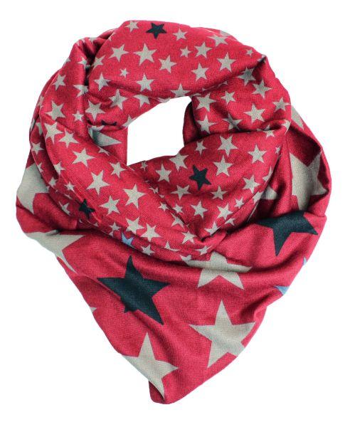 Ladies Loop scarf<br> scarf good quality<br>9D0179 Red