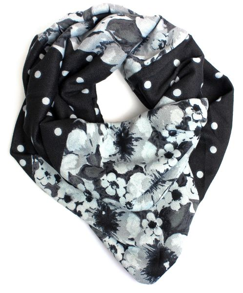 Ladies Scarf Snood<br>Loop 9D0180 Black