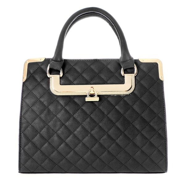 Shopper bag ladies<br> bag handbag black<br>T10