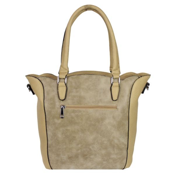 Handbag ladies bag<br> shoulder bag B6005<br># Caram