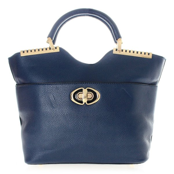 Shopper bag ladies<br>bag handbag T53 Blue