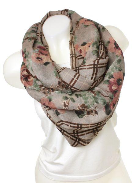 Snood scarf 9D0139<br>05_ Khaki