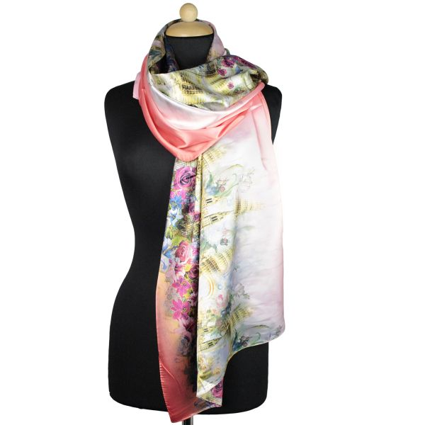 Ladies Scarf good<br>quality red 150995