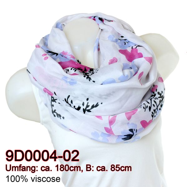 Ladies Loop scarf<br> scarf good quality<br>9D0004 White