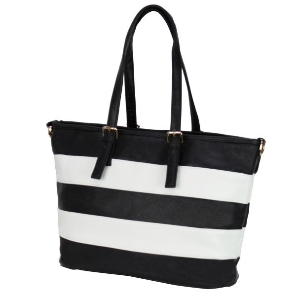 Shoulder bag good<br> quality 868 black,<br>white