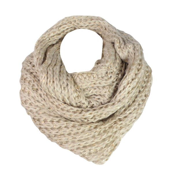 Tube scarf / snood<br> / 9D0232 without<br>Pupe Beige