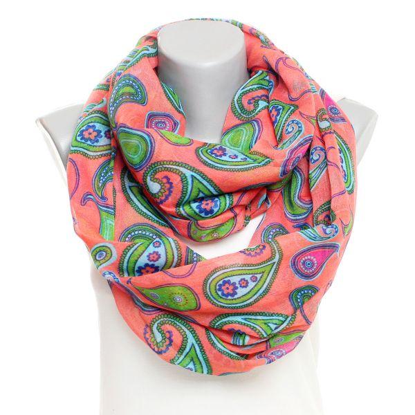 scarf loop SJL50 Red
