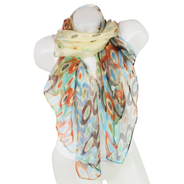 Ladies Loop scarf<br> scarf good quality<br>Yellow 150615