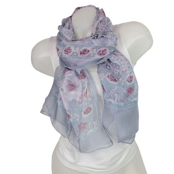 Ladies Loop scarf<br> scarf good quality<br>gray 150920