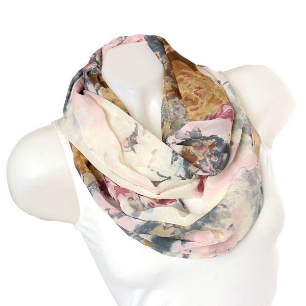 Ladies Loop scarf<br> scarf good quality<br>FZ-2 Pink