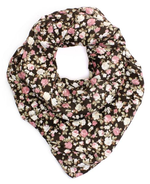 Ladies Scarf Long<br>Scarf 9D0183 brown