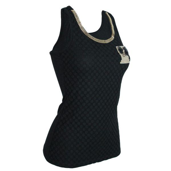 T-shirt ladies<br> good quality TS018<br>Black L / XL