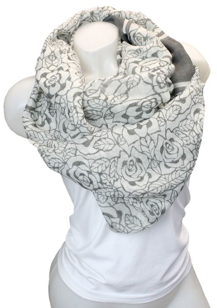 Ladies Loop scarf<br> scarf good quality<br>9D0295Beige,