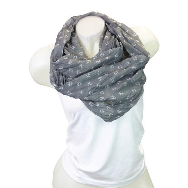 Ladies Loop scarf<br> scarf good quality<br>9D0307 Grey