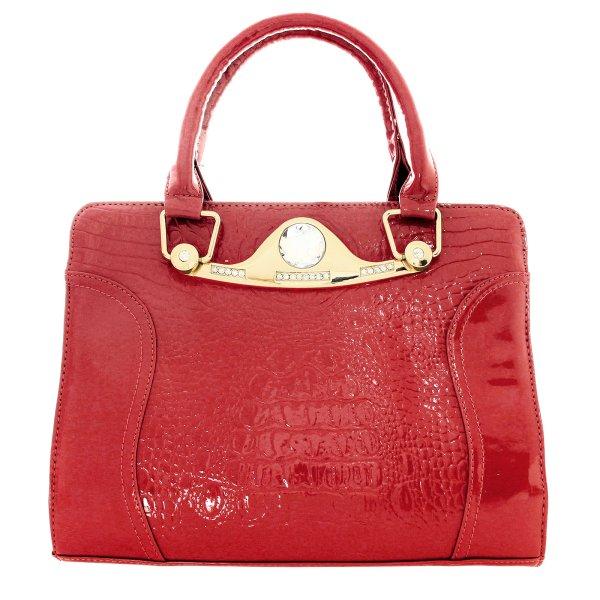 Shopper Tasche<br> Damentasche<br>Handtasche T13 Rot
