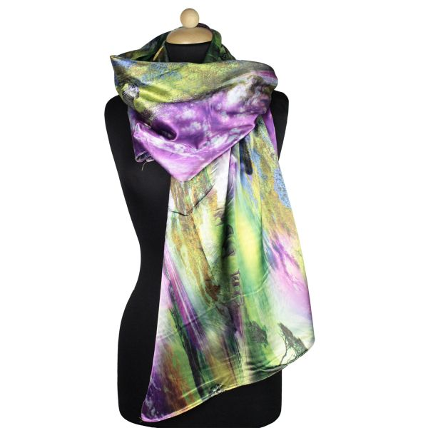 Ladies Scarf good<br>quality Green 150997