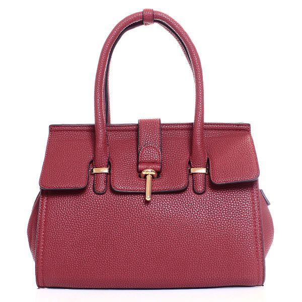 Shopper Tasche<br> Damentasche<br>90013# Rot