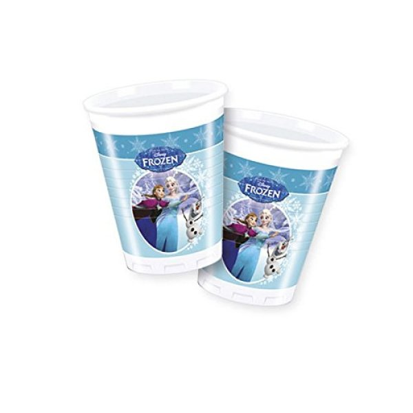 frozen Ice skating<br> - plastic cup<br>200ml 8pcs