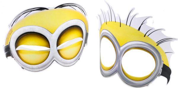 Minions - 6 Masken