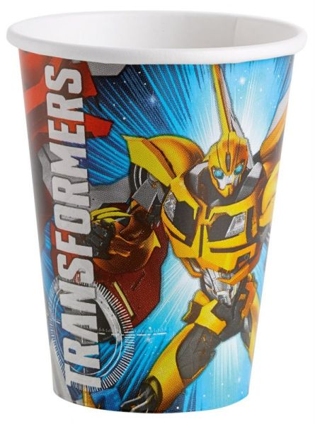 Transformers - 8<br>cups Sign