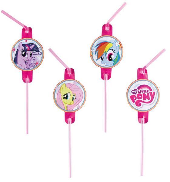 My Little Pony - 8<br>straws