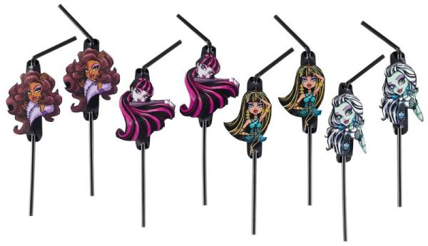 Monster High 2 - 8<br>straws