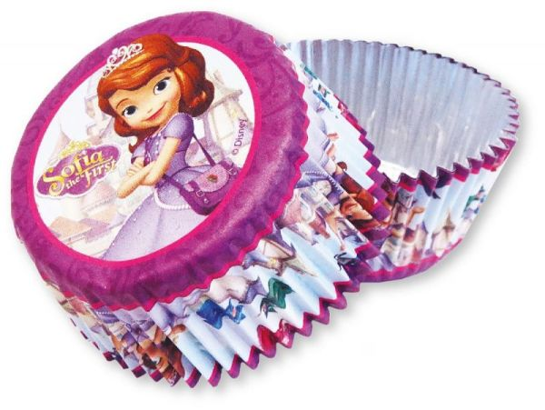 Sofia the First -<br>24 muffin cups