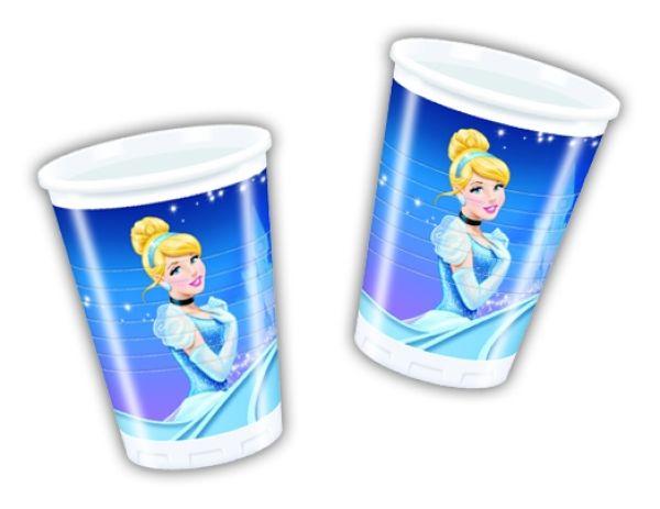 Cinderella -<br>plastic cup 200 ml