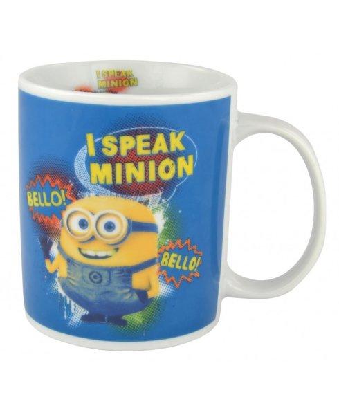 Minions Tasse Cup<br>  I speak Minion <br>ca. 320 ml