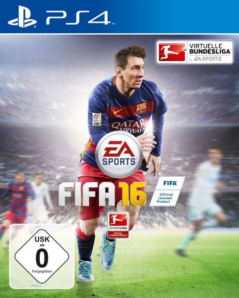 FIFA 16<br> Playstation 4 -<br> Videospiel ...