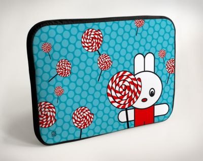 Laptop Bags -<br> Lollipop - Rabbit<br>- 10 &quot;