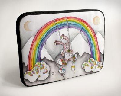 Laptop Case -<br>Rainbow - 10 &quot;