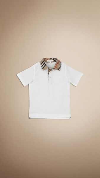 Short Sleeve Polo.<br>BURBERRY