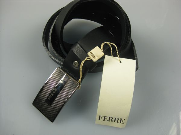 FE-duplex black<br>leather strap