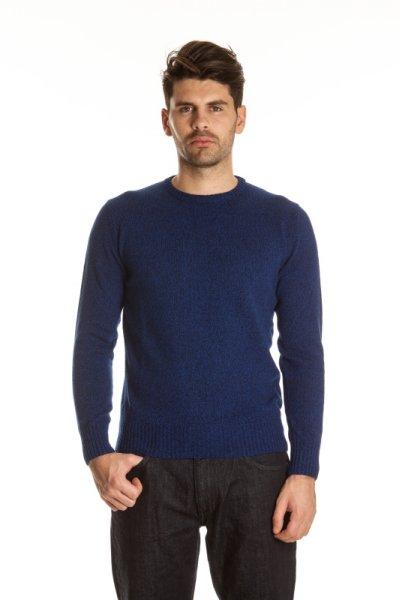 Blu Byblos petrol<br> blue sweater ML CR<br>- M