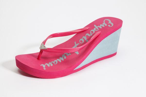 Emporio Armani<br> Tong Beach Sandal<br>Women