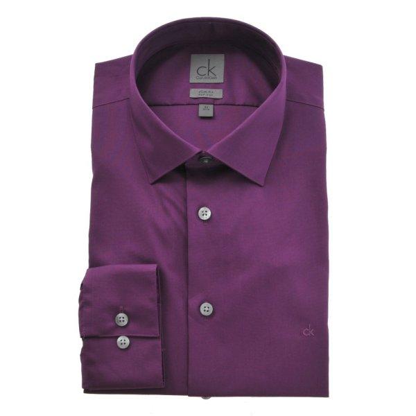 Männer Calvin<br>Klein Shirt BORDO
