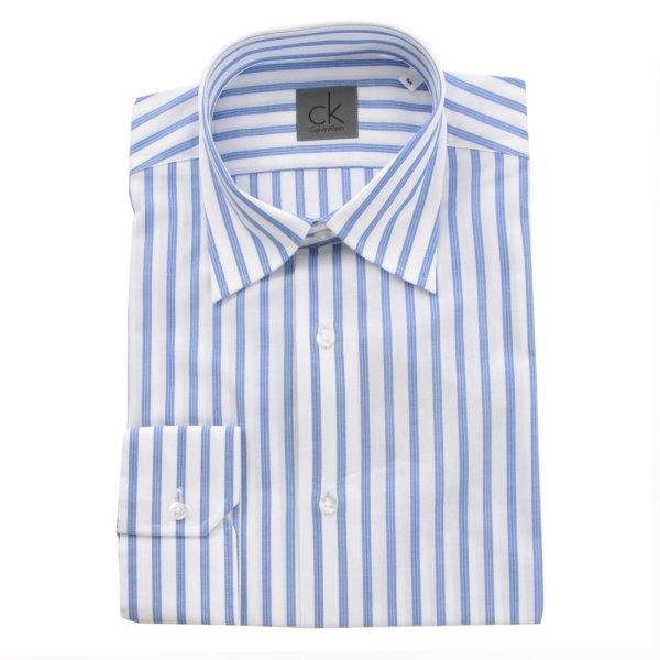 BLUE STRIPED shirt<br>Men Calvin Klein