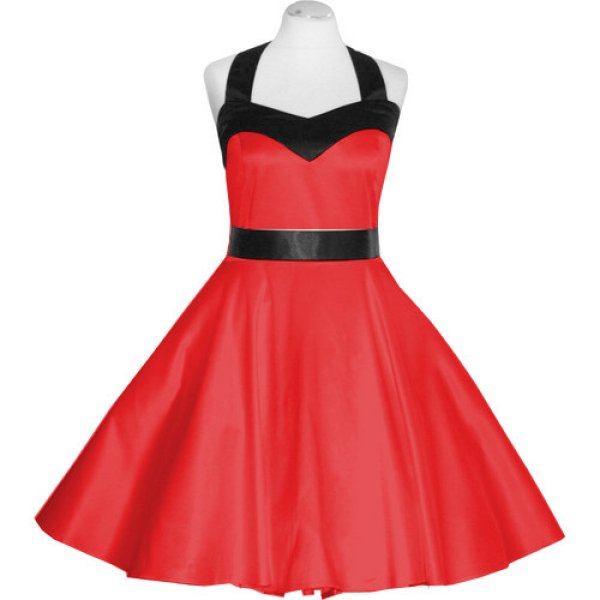 Esmeralda roten Kleid