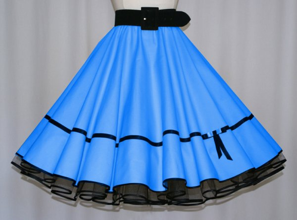 Pin Up Rock blau