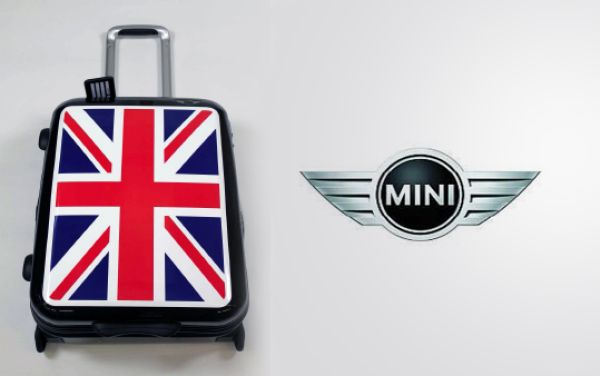 6 X Original MINI<br> Cabin Trolley<br>Union Jack