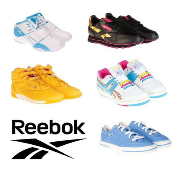 24 pcs Original<br> REEBOK Ladies<br>Sport Shoes