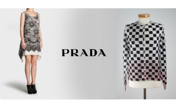 4 x Oryginalnych<br>odzież PRADA kobiet