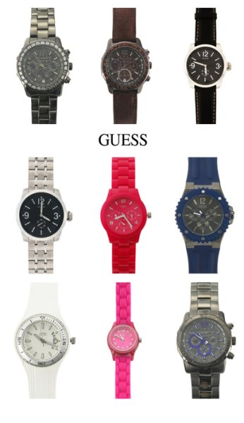 160 x Original<br>GUESS Watches