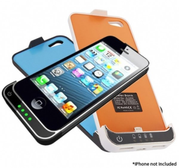Battery Case for<br> iPhone 5 2200mAh<br>external battery
