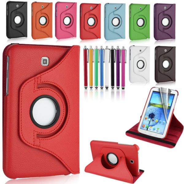 Samsung Galaxy Tab<br> 7.0 3 rotating<br>sleeve P3200/321