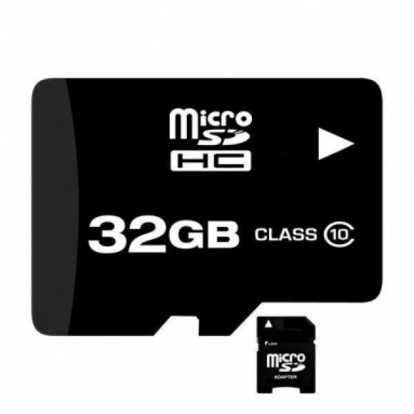 Micro SD Card 32GB<br> Class 10 mit SD<br>Adapter kostenl
