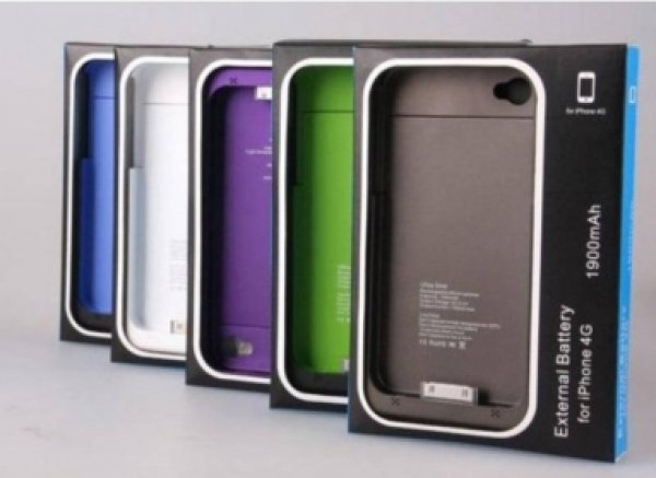 Battery Case for<br> iPhone 4/4S<br> External Battery ...
